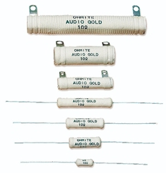 Audio Gold Resistors